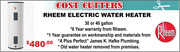 Clearwater Florida Water Heaters - APlusPerfectPlumbing.com