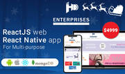React Native App for E-Commerce at Just $4999: A Christmas Offer